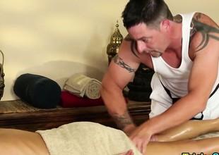 aged beauty massage